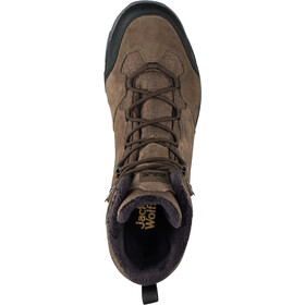 Jack Wolfskin Thunder Bay Texapore Miehet kengät , ruskea